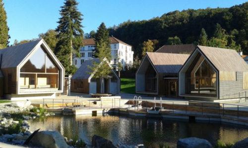 Sauna-Erweiterung Jordanbad Biberach