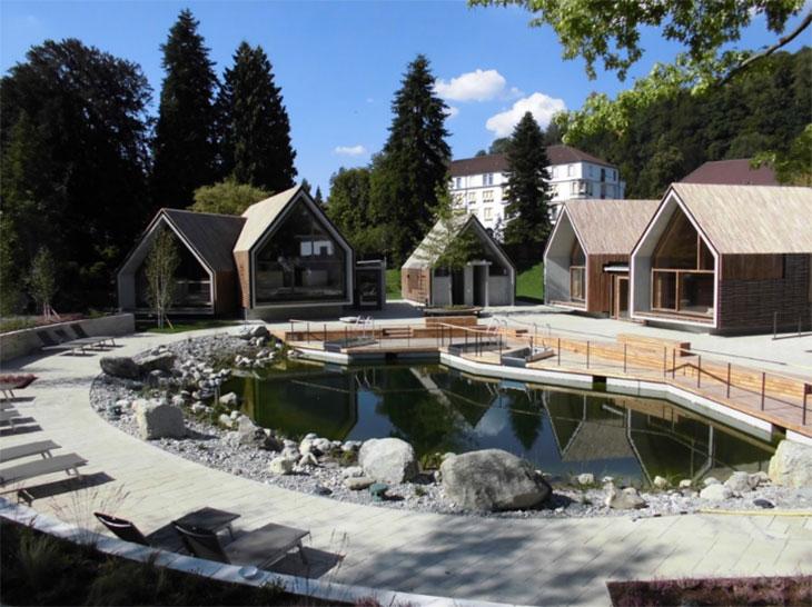 Sauna Erweiterung Jordanbad Biberach