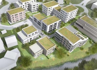 """Wohngebäude """"Wohnen am Hofgut"""" in Blaustein"""