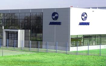 Produktionshalle, Fa. Airbus, Laupheim
