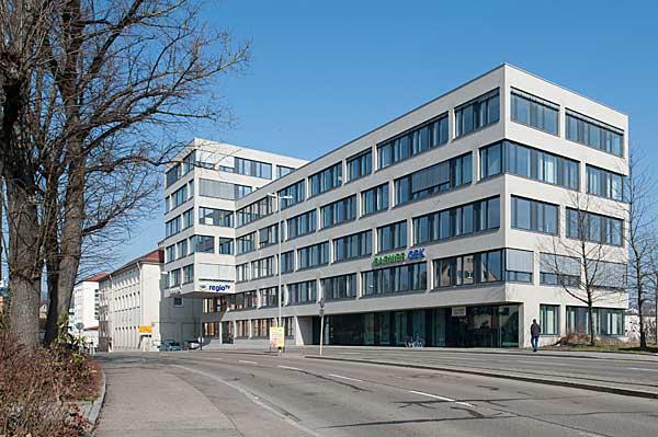 Bürogebäude Barmer Versicherungen, Ulm